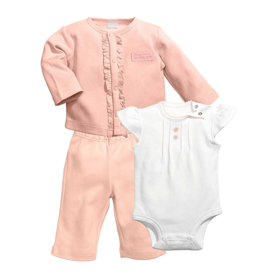 "Baby Dumpling ""Heaven Sent"" Cardigan and Pant Set"