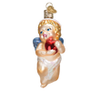 Old World Cherub Glass Ornament -  Christmas Decorations - Old World Christmas - Putti Fine Furnishings Toronto Canada - 3