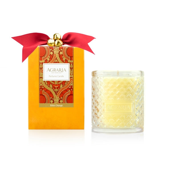 Agraria Woven Crystal Candle - 200g - Bitter Orange | Putti Fine Furnishings