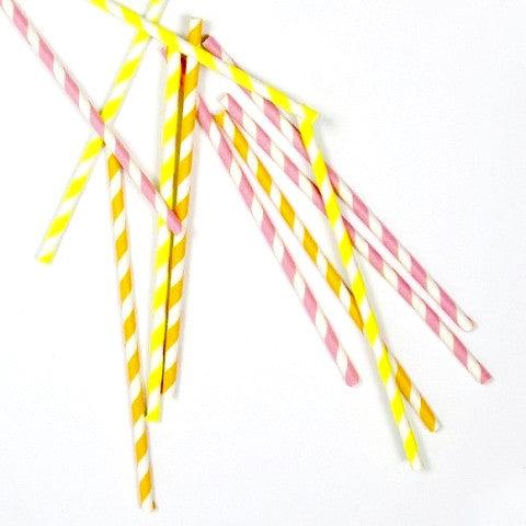 Meri Meri Paper Straws - Neon, MM-Meri Meri UK, Putti Fine Furnishings