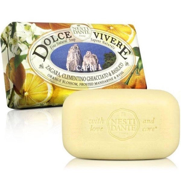 Nesti Dante Firenze Dolce Vivere | Capri Soap | Putti Fine Furnishings