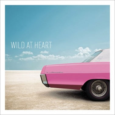 Icon Cards | Wild at Heart Pink Car Greeting Card | Putti Canada