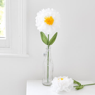Decadent Garden White Giant Flower Decoration - Medium, TT-Talking Tables, Putti Fine Furnishings