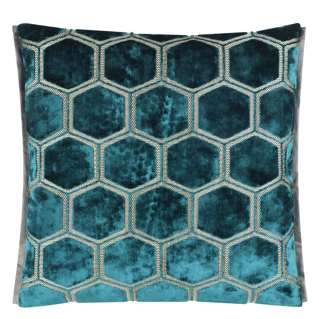 Designers Guild Manipur Azure Cushion