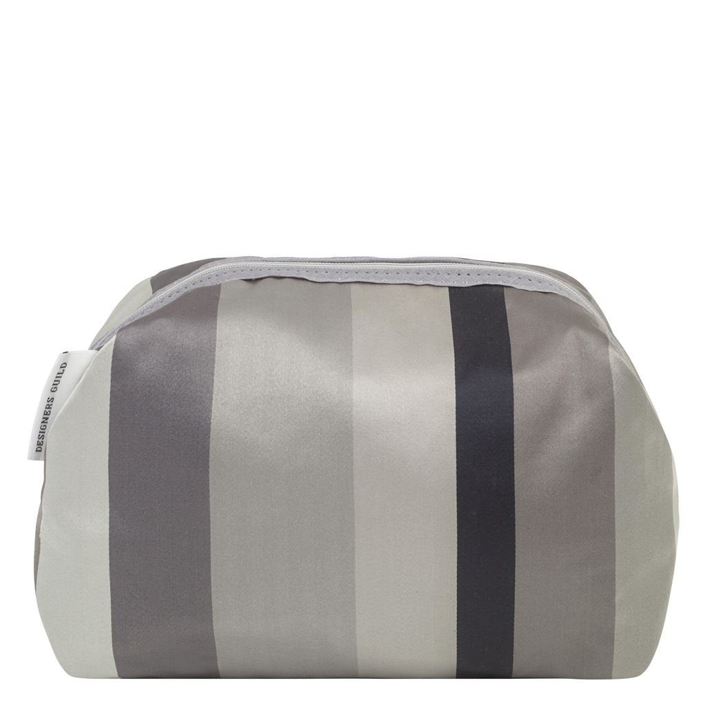 Designers Guild Tanchoi Graphite Toiletry Bag - Large
