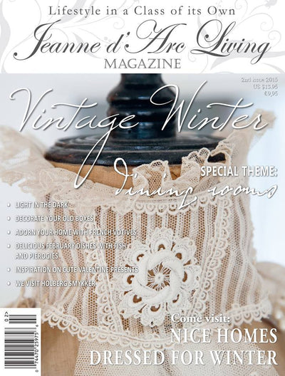 Jeanne d'Arc Living Magazine February 2015 2nd edition, Jeanne d'Arc Living, Putti Fine Furnishings