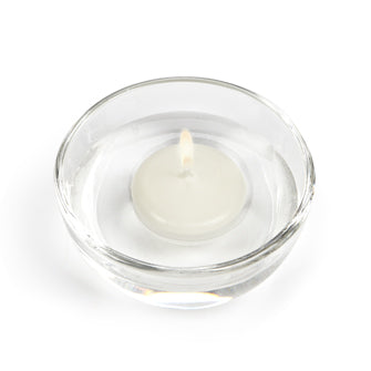 Floating Candles Small Round - Cream
