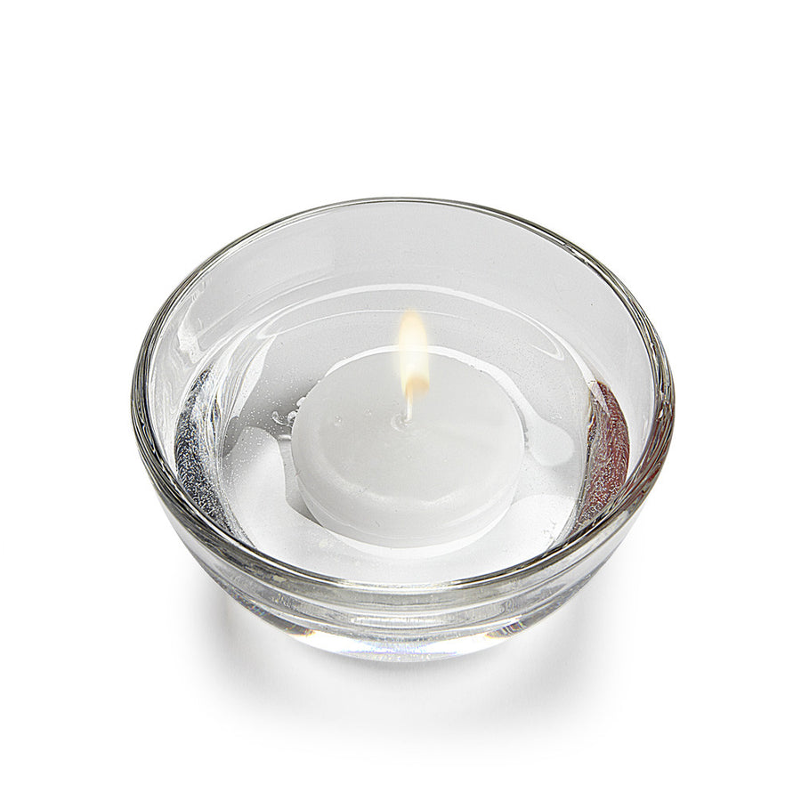 Floating Candles Small Round - White