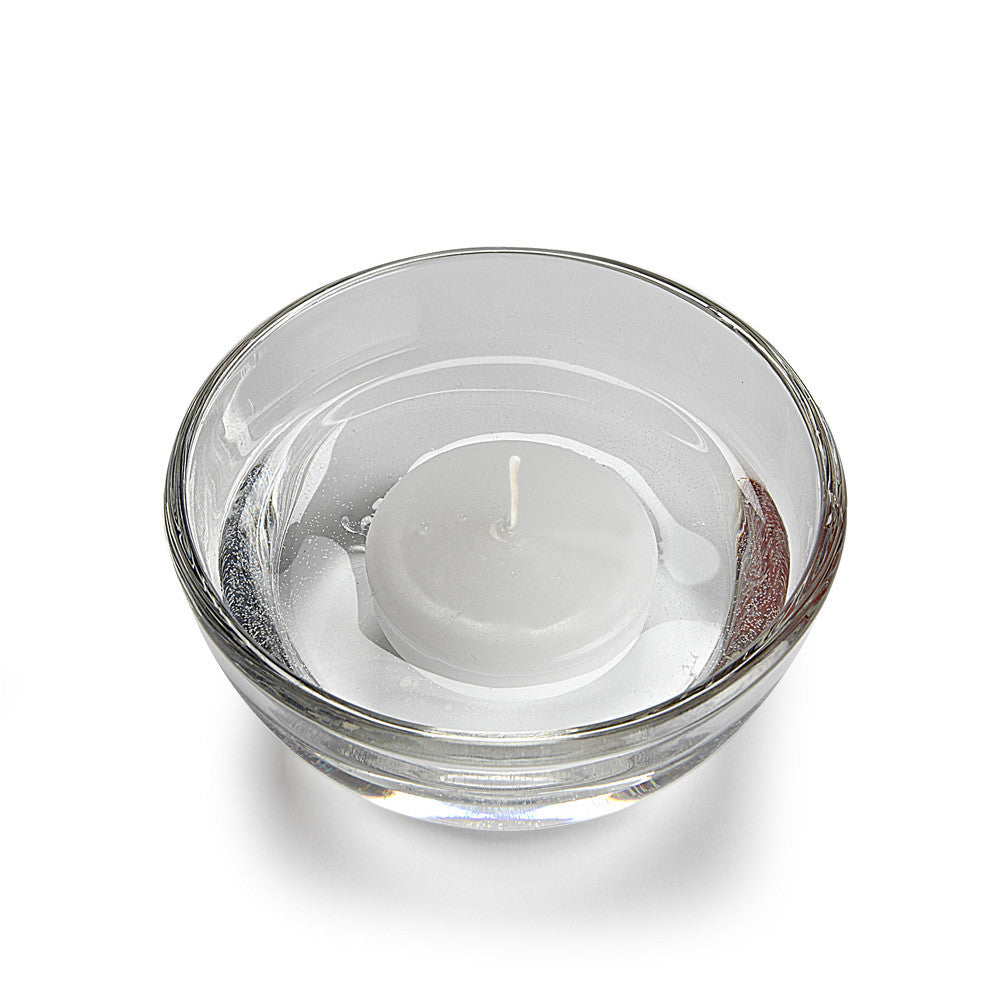 Floating Candles Small Round - White - Individual candle Candles - AC-Abbot Collection - Putti Fine Furnishings Toronto Canada - 1