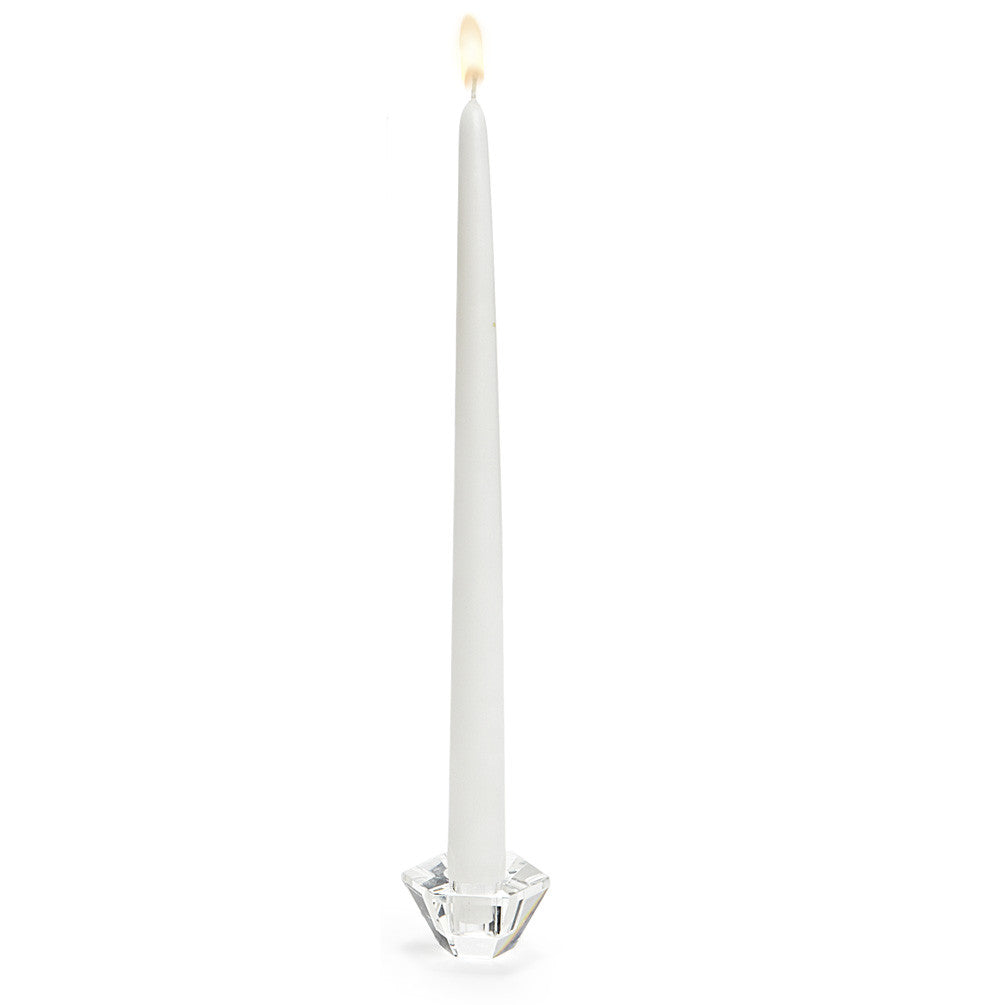 Taper Candles - White