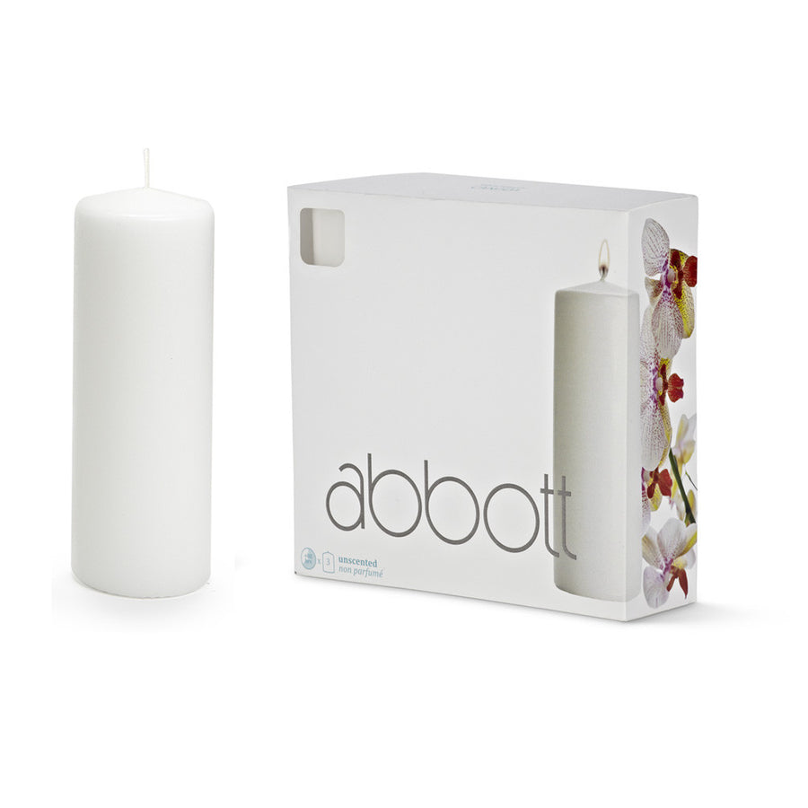 Pillar Candle White - Large