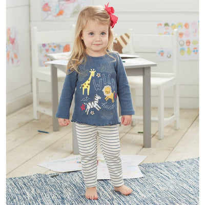 Mud Pie Wild at Heart Tunic Leggings Set, TC-Two's Company, Putti Fine Furnishings