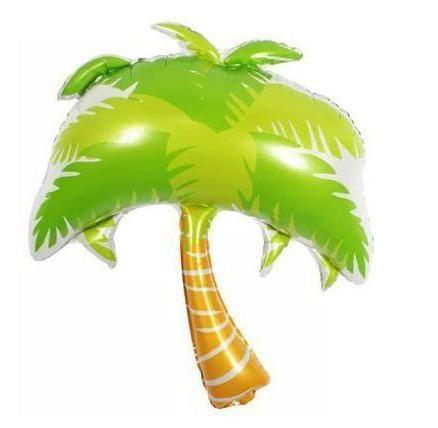 Palm Tree Mylar Balloon - Green