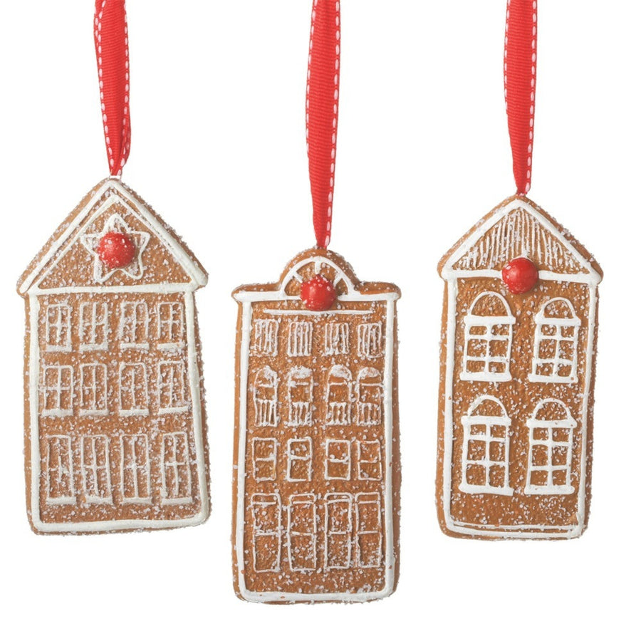 Gingerbread House Cookie Ornaments