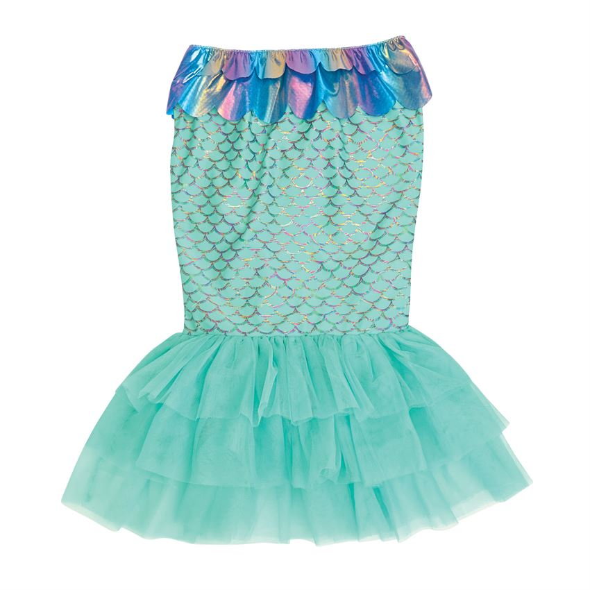 Mermaid Tail Swim Skirt - Aqua
