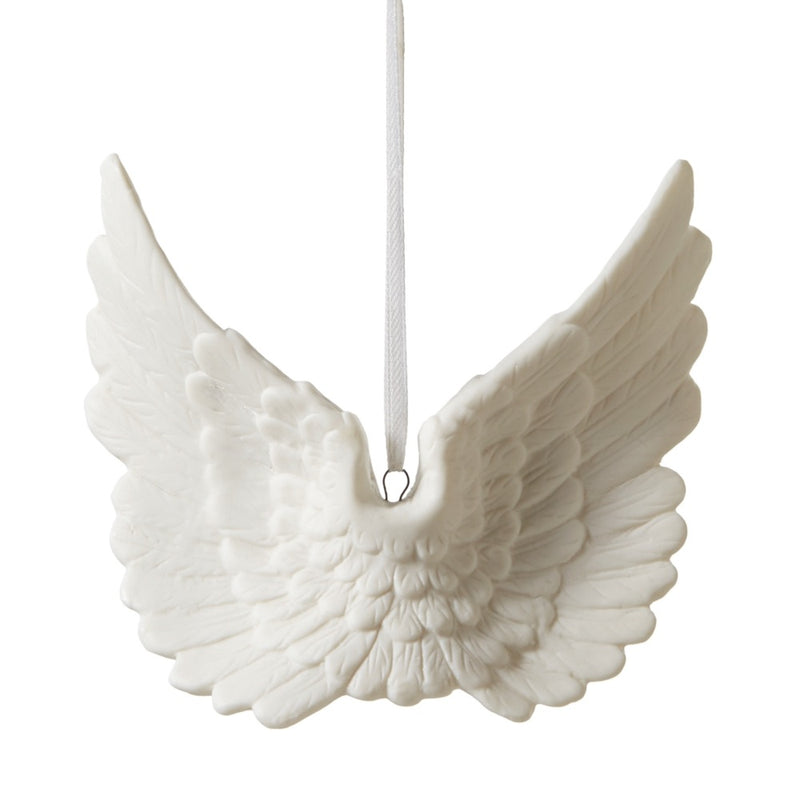Porcelain Open Wing Ornament, MW-Midwest / CBK, Putti Fine Furnishings