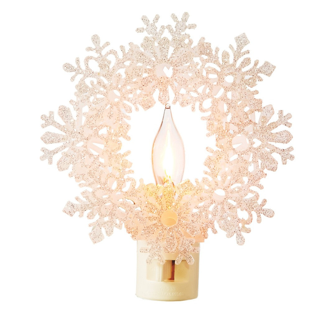 Snowflake Night Light -  Accessories - Midwest - Putti Fine Furnishings Toronto Canada