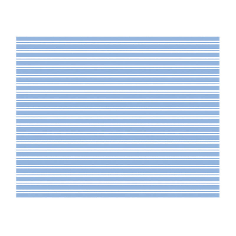 Meri Meri Blue & White Stripe Paper Tablecloth