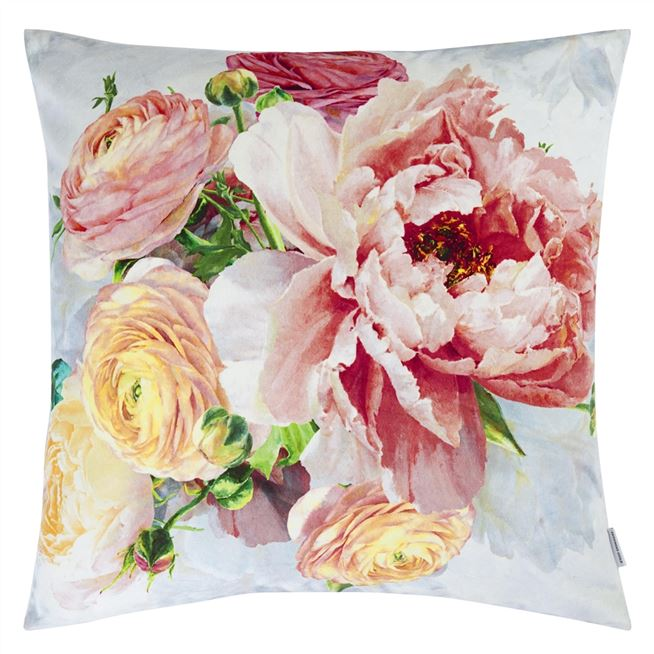 Designers Guild Tourangelle Coral Decorative Pillow | Putti Fine Furnishings