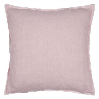 Designers Guild Brera Lino Pale Rose Decorative Pillow - Putti Fine Furnishings