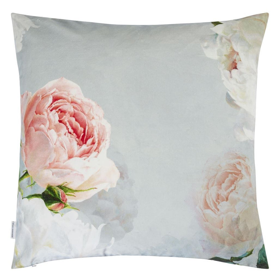 Designers Guild Peonia Grande Zinc Decorative Pillow