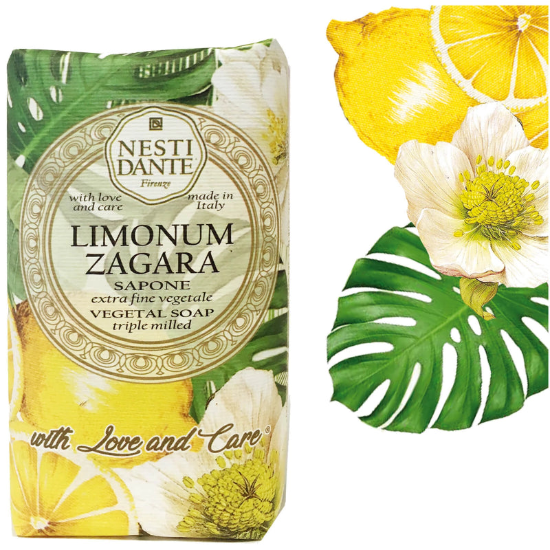 "Nesti Dante ""With Love & Care"" Limonum Zagara Soap 