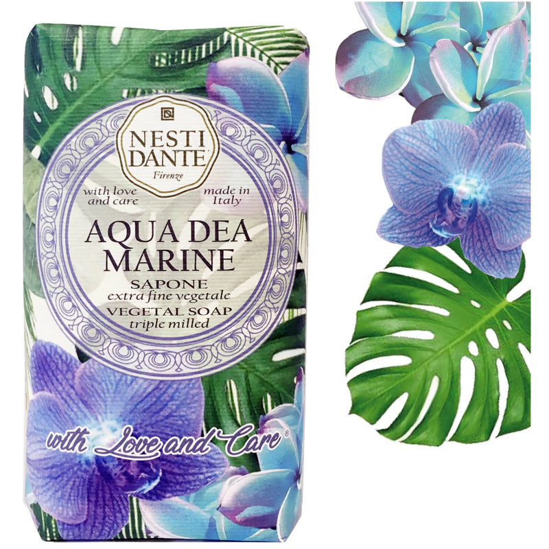"Nesti Dante ""With Love & Care"" Aqua Dea Marine Soap 
