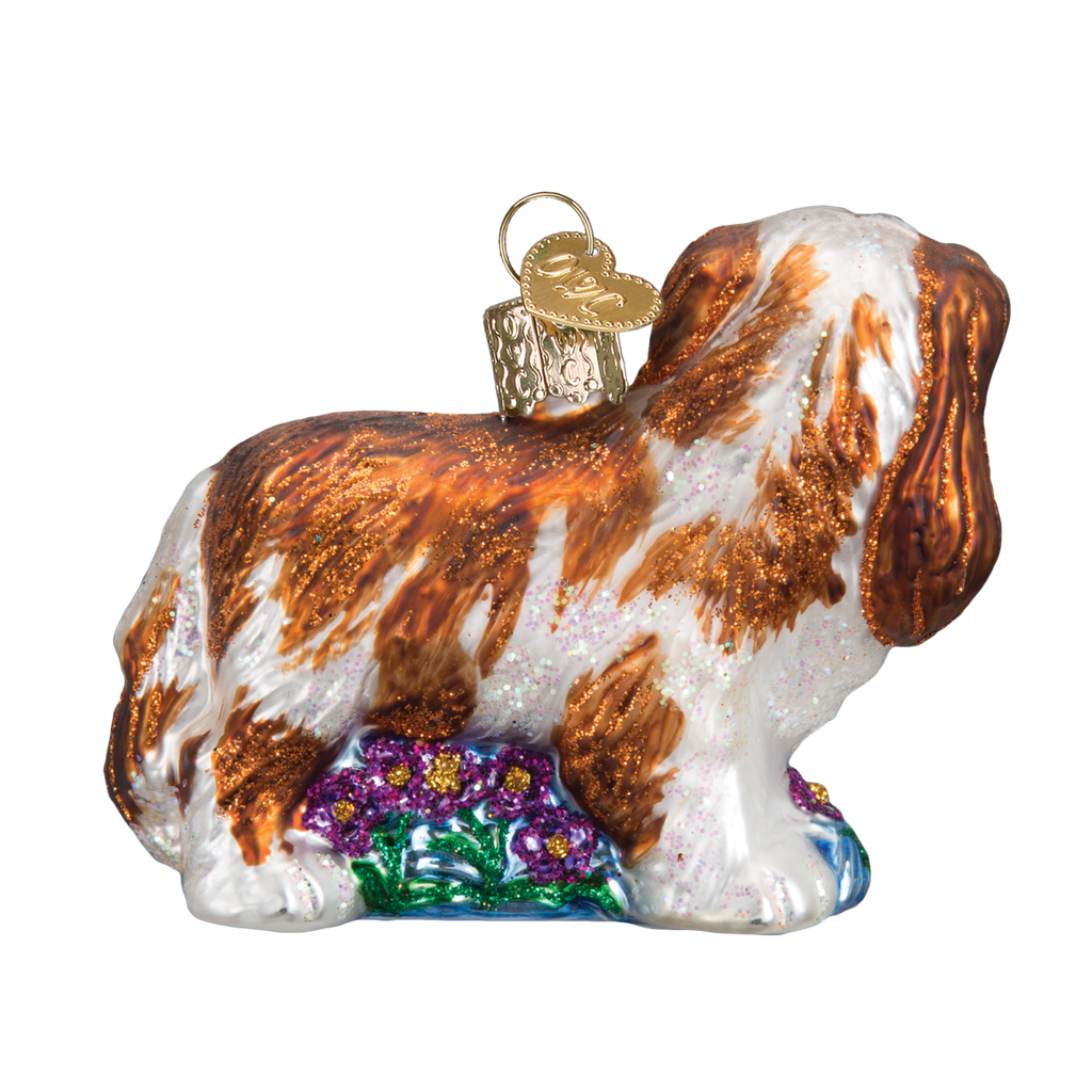 Old World Christmas Cavalier King Charles Christmas Ornament -  Christmas - Old World Christmas - Putti Fine Furnishings Toronto Canada - 5