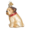 "Old World Christmas ""Pugsley"" Pug Christmas Ornament -  Christmas - Old World Christmas - Putti Fine Furnishings Toronto Canada - 2"