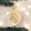 Old World Christmas Nautilus Shell Glass Ornament -  Christmas Decorations - Old World Christmas - Putti Fine Furnishings Toronto Canada - 4