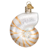 Old World Christmas Nautilus Shell Glass Ornament -  Christmas Decorations - Old World Christmas - Putti Fine Furnishings Toronto Canada - 2