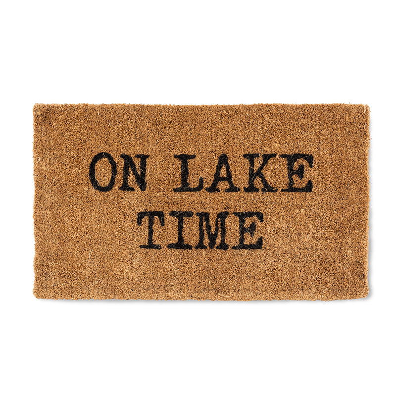 """On Lake Time"" Doormat  