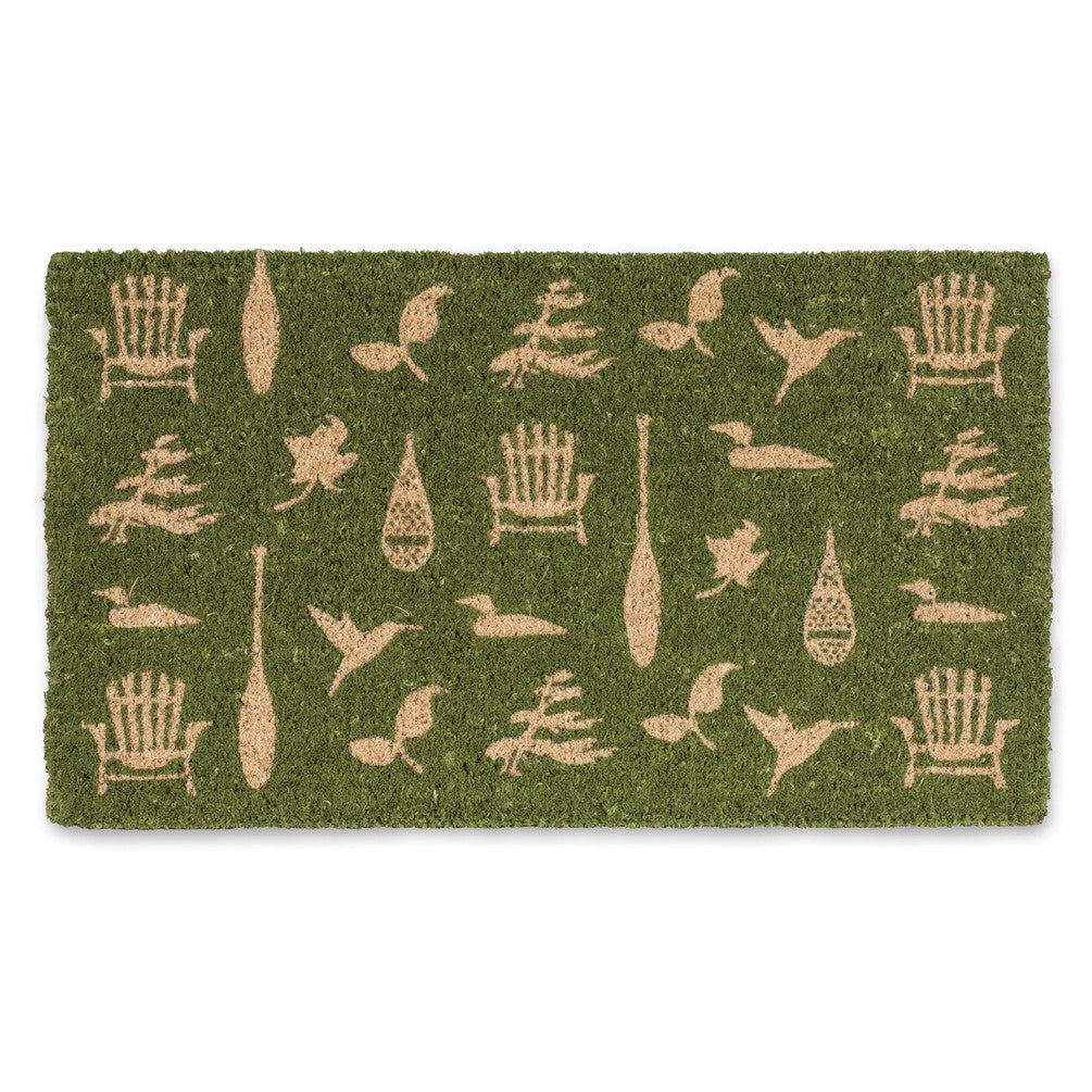 Cottage Icon Doormat-Carpets and Rugs-AC-Abbott Collection-Putti Fine Furnishings