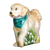 Old World Christmas Doodle Dog Glass Ornament