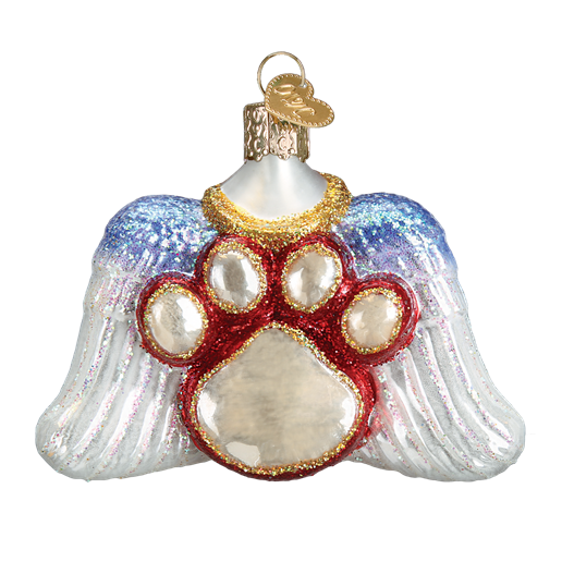 Old World Christmas Beloved Pet Christmas Ornament-Christmas-OWC-Old World Christmas-Putti Fine Furnishings