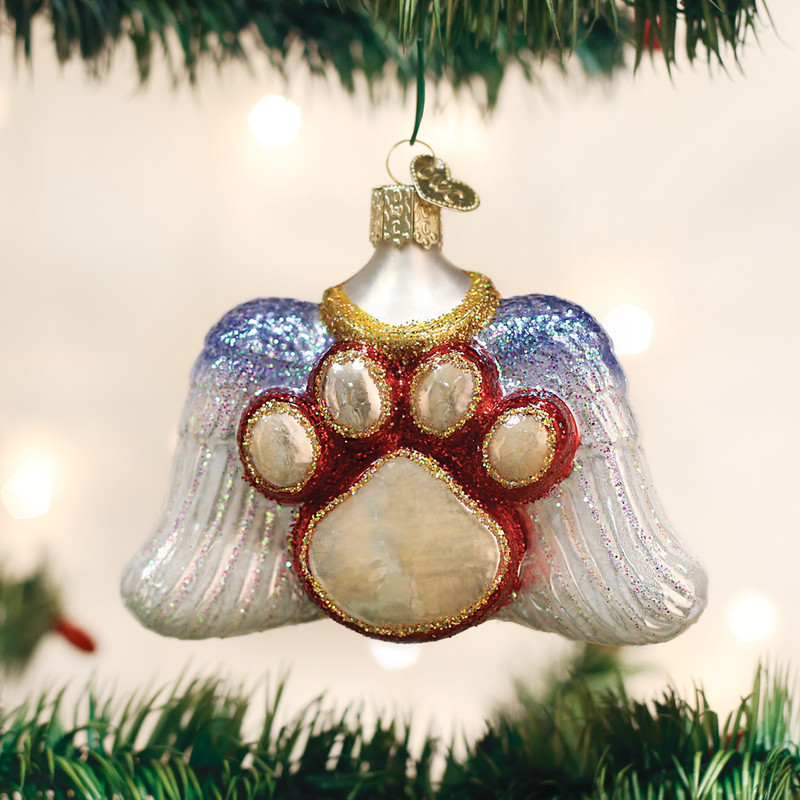 Old World Christmas Beloved Pet Christmas Ornament, OWC-Old World Christmas, Putti Fine Furnishings