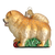 Old World Chow Chow Dog Glass Ornament | Putti Christmas Decoration