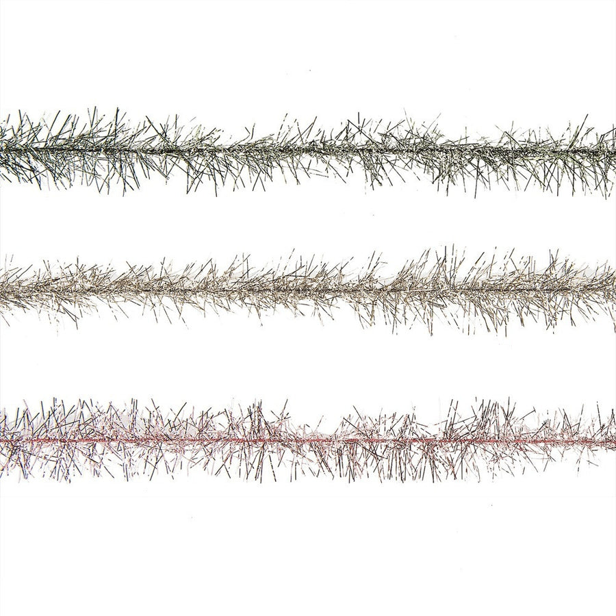 Tinsel Garland on Paper Spool