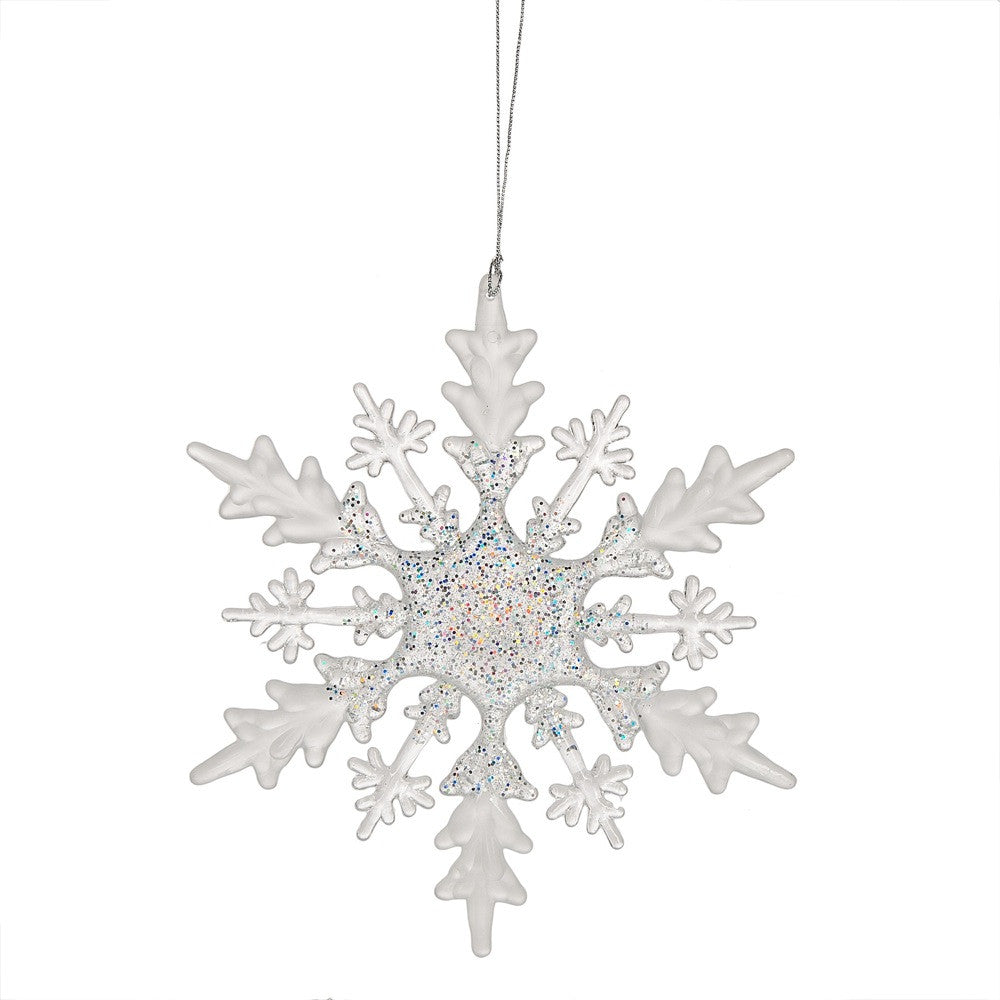 Medium Snowflake Ornament, MW-Midwest / CBK, Putti Fine Furnishings