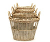 Round Open Chicken Wire Baskets - Set of 4, BBL-Bacon Basketware Limited, Putti Fine Furnishings