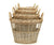 Round Open Chicken Wire Baskets - Set of 4
