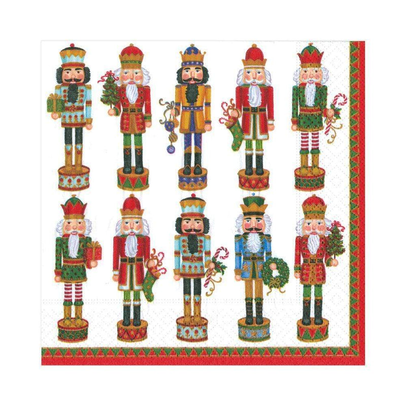 Nutcracker Parade Paper Napkin - Lunch | Putti Christmas Canada