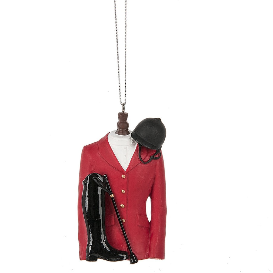 Red Equestrian Jacket
