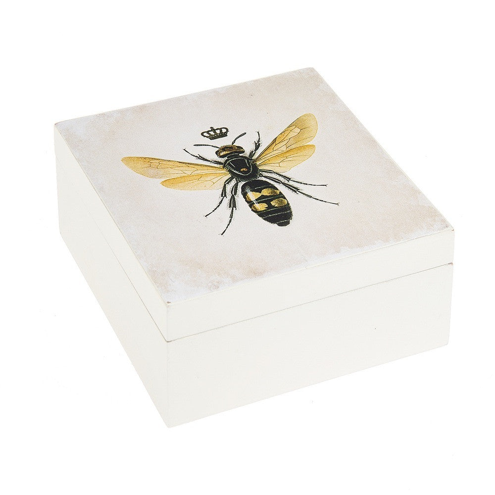 Queen Bee Hinged Box -  Accessories - Midwest - Putti Fine Furnishings Toronto Canada