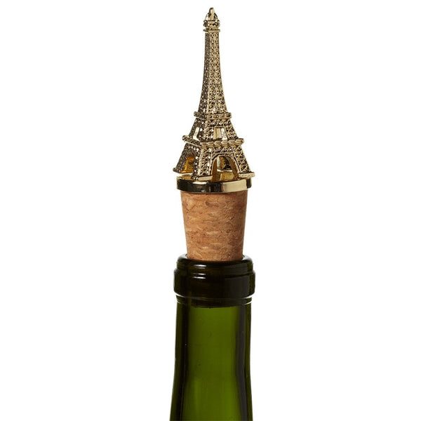 Gold Eiffel Tower Bottle Stopper -  Bar Accessories - Midwest - Putti Fine Furnishings Toronto Canada