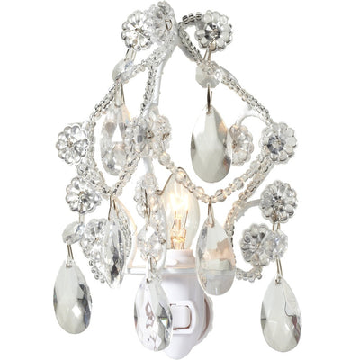 Chandelier Night Light - White -  Accessories - Midwest - Putti Fine Furnishings Toronto Canada - 1