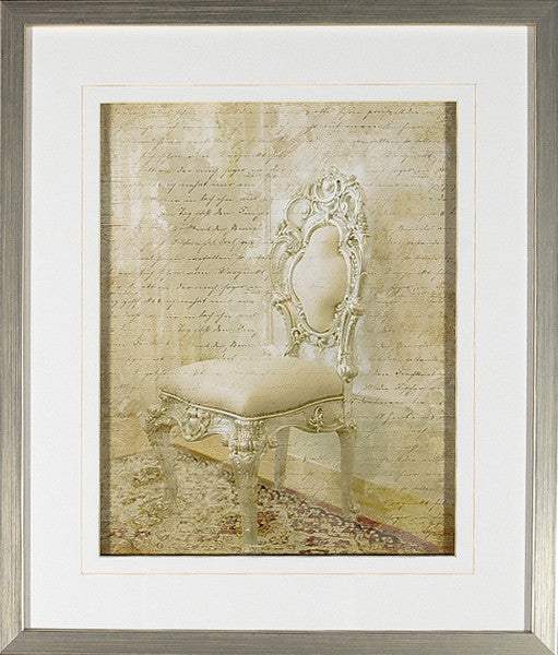"""Letters From Versailles 11"" Framed Print, Cel Arts Studio, Putti Fine Furnishings"
