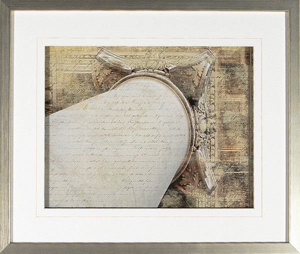 """Letters From Versailles IV"" Framed Print -  Photographic Print - Cel Arts Studio - Putti Fine Furnishings Toronto Canada"