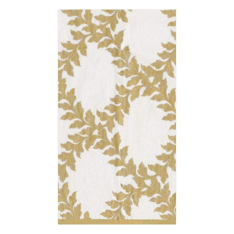 Gold Acanthus Trellis Paper Napkin - Guest | Putti party Supplies