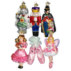 Old World Christmas The Nutcracker Glass Christmas Ornament Set -  Christmas - Old World Christmas - Putti Fine Furnishings Toronto Canada - 1